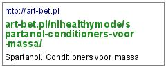 http://art-bet.pl/nlhealthymode/spartanol-conditioners-voor-massa/
